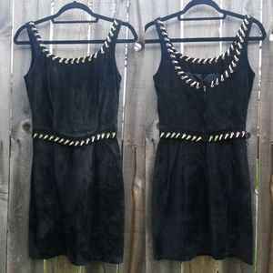 Beautiful vintage leather madonna inspired Dress